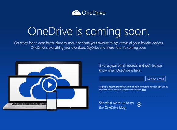 Skydrive-OneDrive-Oluyor