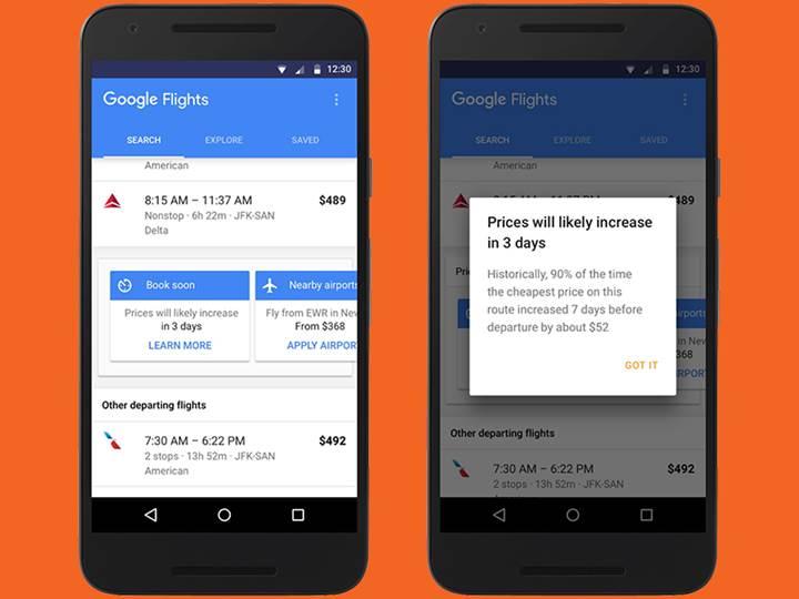 google_flight_ucak_arama_hizmeti